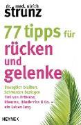Cover-Bild zu Strunz, Ulrich: 77 Tipps für Rücken und Gelenke (eBook)