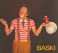 Cover-Bild zu Gohl, Heinrich: BASKI im Zirkus