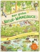Cover-Bild zu Henkel, Christine (Illustr.): Mein großes Natur-Wimmelbuch