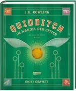Cover-Bild zu Rowling, J.K.: Quidditch im Wandel der Zeiten (farbig illustrierte Schmuckausgabe)