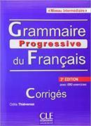 Cover-Bild zu Grammaire progressive du français. Niveau intermédiaire. Corrigés von Thiévenaz, Odile