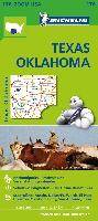 Cover-Bild zu Michelin Zoomkarte Texas Oklahoma 1 : 1.267.200