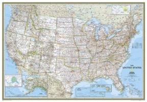Cover-Bild zu The United States Classic, Enlarged Flat von National Geographic Maps