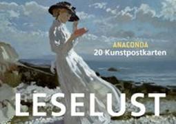Cover-Bild zu Postkartenbuch Leselust