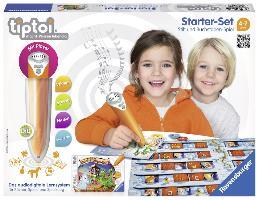 Cover-Bild zu tiptoi® Starter-Set Schatzsuche in der Buchstabenburg