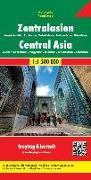 Cover-Bild zu Zentralasien - Kasachstan Süd - Kirgisistan - Tadschikistan -Turkmenistan - Usbekistan, Autokarte 1:1,5 Mio. 1:1'500'000