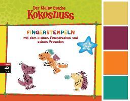 Cover-Bild zu Der kleine Drache Kokosnuss - Fingerstempeln von Siegner, Ingo (Beitr.)