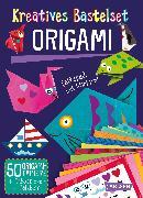 Cover-Bild zu Kreatives Bastelset: Origami: Set mit 50 Faltbögen, Anleitungsbuch und Falzhilfe von Poitier, Anton
