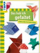 Cover-Bild zu Das hab ich gefaltet von Herzog, Alice