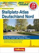 Cover-Bild zu Deutschland Nord Stellplatz-Atlas 2018/2019 von Feyerabend, Kai (Hrsg.)