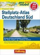Cover-Bild zu Deutschland Süd Stellplatz-Atlas 2018/2019 von Feyerabend, Kai (Hrsg.)