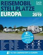 Cover-Bild zu Reisemobil Stellplätze Europa 2019