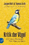 Cover-Bild zu Kritik der Vögel von Roth, Jürgen