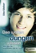 Cover-Bild zu Das wollen Jungen wissen von Weber, Uta