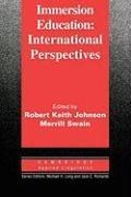 Cover-Bild zu Immersion Education von Johnson, Robert Keith (Hrsg.)