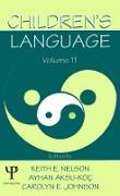 Cover-Bild zu Children's Language (eBook) von Nelson, Keith E. (Hrsg.)