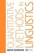 Cover-Bild zu Quantitative Methods In Linguistics von Johnson, Keith