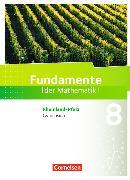 Cover-Bild zu Fundamente der Mathematik 8. Schuljahr. Schülerbuch. RP von Altherr, Stefan