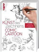 Cover-Bild zu Die Kunst des Zeichnens Comic Cartoon von frechverlag