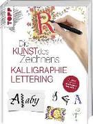 Cover-Bild zu Die Kunst des Zeichnens - Kalligraphie & Lettering von frechverlag