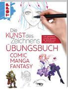 Cover-Bild zu Die Kunst des Zeichnens - Comic Manga Fantasy Übungsbuch von frechverlag
