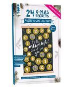 Cover-Bild zu 24 X-MAS SECRETS - Rubbel-Adventskalender - Unter dem Mistelzweig von frechverlag