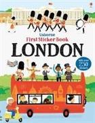 Cover-Bild zu First Sticker Book London von Maclaine, James