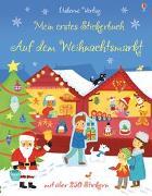 Cover-Bild zu Mein erstes Stickerbuch: Auf dem Weihnachtsmarkt von Maclaine, James