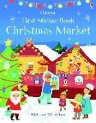 Cover-Bild zu First Sticker Book Christmas Market von Maclaine, James