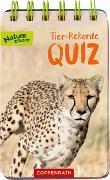 Cover-Bild zu Tier-Rekorde-Quiz von Oftring, Bärbel