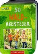 Cover-Bild zu 50 Wald-Abenteuer von Zysk, Stefanie