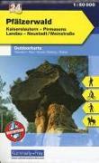 Cover-Bild zu Pfälzerwald, Kaiserslautern, Pirmasens, Landau, Neustadt/Weinstrasse. 1:50'000 von Hallwag Kümmerly+Frey AG (Hrsg.)