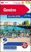 Cover-Bild zu Genève Velokarte Nr. 17. 1:60'000 von Hallwag Kümmerly+Frey AG (Hrsg.)