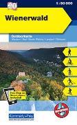 Cover-Bild zu Wienerwald, Baden, Tulln, Wien. 1:50'000 von Hallwag Kümmerly+Frey AG (Hrsg.)