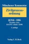 Cover-Bild zu Bd. 3: §§946-1086, EGZPO, GVG, EGGVG, UKlaG, IZPR - Münchener Kommentar Zivilprozessordnung