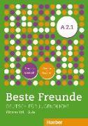 Cover-Bild zu Beste Freunde A2/1. Glosario XXL Deutsch-Spanisch Alemán-Español von García Morales, María (Übers.)