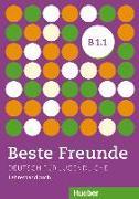Cover-Bild zu Beste Freunde B1/1. Lehrerhandbuch von Tsigantes, Gerassimos