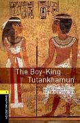 Cover-Bild zu Oxford Bookworms Library: Level 1:: The Boy-King Tutankhamun audio pack von Lauder, Scott
