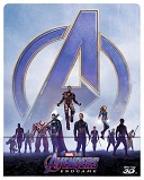 Cover-Bild zu Avengers - Endgame - 3D+2D - Steelbook (3 Disc) von Russo, Anthony (Reg.)