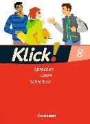 Cover-Bild zu Klick! Deutsch 8. Schuljahr. Schülerbuch von Bähnk, Nina