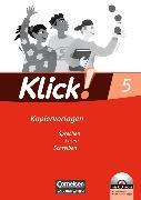 Cover-Bild zu Klick! Deutsch 5. Schuljahr. Kopiervorlagen von Bastian, Beate