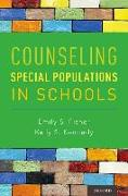 Cover-Bild zu Counseling Special Populations in Schools von Fisher, Emily S.