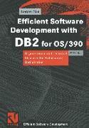 Cover-Bild zu Efficient Software Development with DB2 for OS/390 von Glag, Jürgen