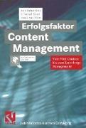 Cover-Bild zu Erfolgsfaktor Content Management von Jäckel, K. Konrad