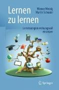 Cover-Bild zu Lernen zu lernen von Metzig, Werner