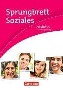 Cover-Bild zu Sprungbrett Soziales. Sozialassistent/in. Sozial- und Pflegeassistenz. Arbeitsheft von Grybeck, Caroline