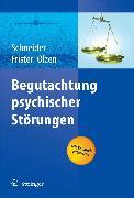Cover-Bild zu Begutachtung psychischer Störungen (eBook) von Schneider, Frank