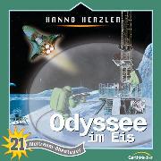 Cover-Bild zu Odyssee im Eis (Weltraum-Abenteuer 21) (Audio Download) von Herzler, Hanno