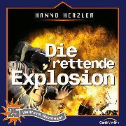 Cover-Bild zu Die rettende Explosion (Weltraum-Abenteuer 25) (Audio Download) von Herzler, Hanno