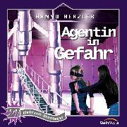 Cover-Bild zu Agentin in Gefahr (Weltraum-Abenteuer 27) (Audio Download) von Herzler, Hanno